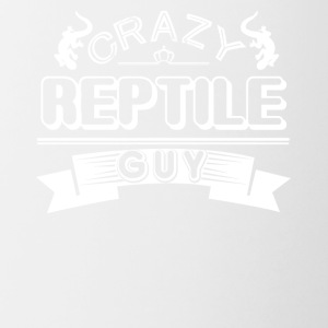 Crazy Reptile Guy Shirt - Contrast Coffee Mug