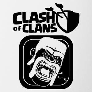 Barbarian Clash of Clans - Contrast Coffee Mug