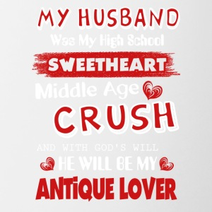 My Husband Was My High School Sweetheart - Contrast Coffee Mug