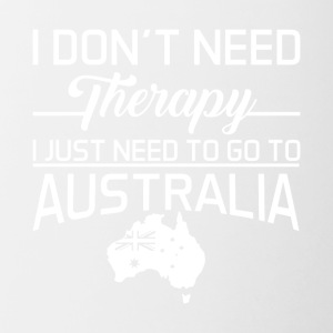 I Just Need To Go To Australia T Shirt - Contrast Coffee Mug
