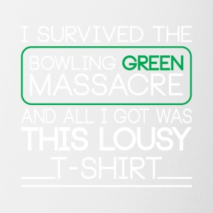 I Survived the Bowling Green Massacre T-Shirt - Contrast Coffee Mug