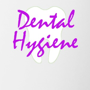 Tooth Dental Hygiene - Dental Hygienist T-shirt - Contrast Coffee Mug