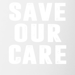 Save Our Care - Contrast Coffee Mug