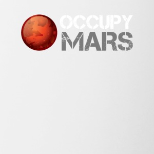 occupy mars - Contrast Coffee Mug