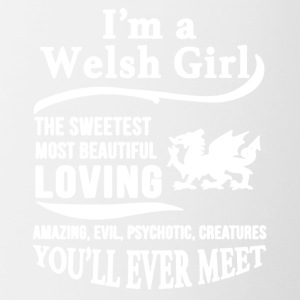 I'M A WELSH GIRL SHIRT - Contrast Coffee Mug