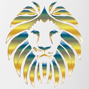 Prismatic Lion Design - Contrast Coffee Mug