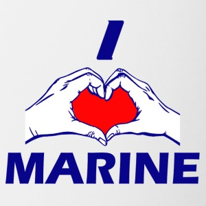 MARINE DESIGN - Contrast Coffee Mug