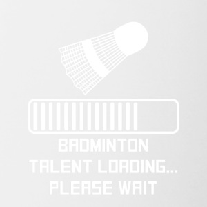 Badminton Talent Loading - Contrast Coffee Mug
