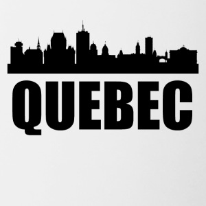 Quebec Skyline - Contrast Coffee Mug