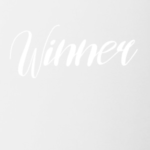winner - Contrast Coffee Mug