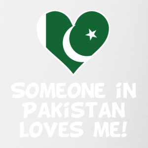 Someone In Pakistan Loves Me - Contrast Coffee Mug