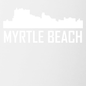 Myrtle Beach South Carolina City Skyline - Contrast Coffee Mug