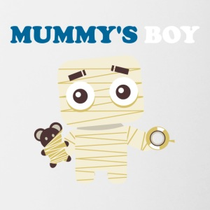 MUMMY'S BOY - Contrast Coffee Mug
