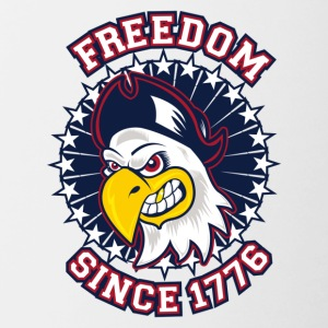 FREEDOM EAGLE Freedom since 1776 - Contrast Coffee Mug