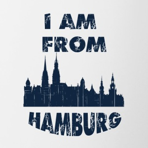 HAMBURG I am from - Contrast Coffee Mug