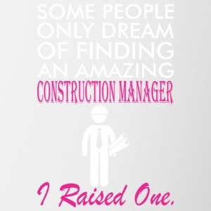 Some People Dream Amazing Construction Manager - Contrast Coffee Mug