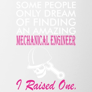 Some People Dream Amazing Mechanical Engineer - Contrast Coffee Mug