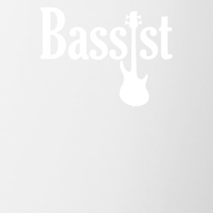 Bassist Guitar - Contrast Coffee Mug