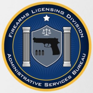 FireArms Licensing Division T-Shirt - Contrast Coffee Mug