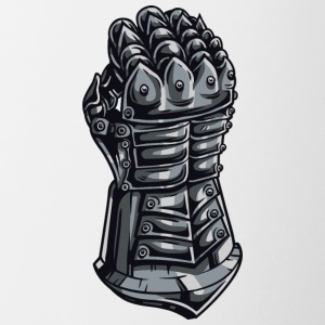 KNIGHT FIST - Contrast Coffee Mug