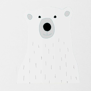 bear - Contrast Coffee Mug