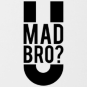 u mad bro - Contrast Coffee Mug
