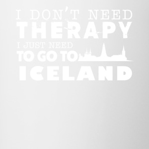 Iceland Therapy Shirt - Contrast Coffee Mug