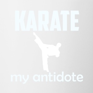 KARATE DESIGN - Contrast Coffee Mug