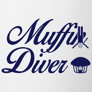 Muffin Diver - Contrast Coffee Mug