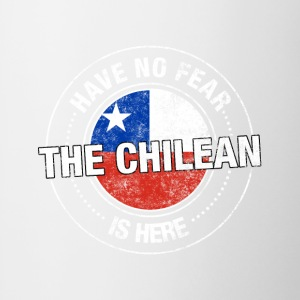 Have No Fear The Chilean Is Here - Contrast Coffee Mug