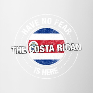 Have No Fear The Costa Rican Is Here - Contrast Coffee Mug