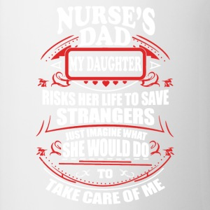 Nurse Dad Shirt - Contrast Coffee Mug