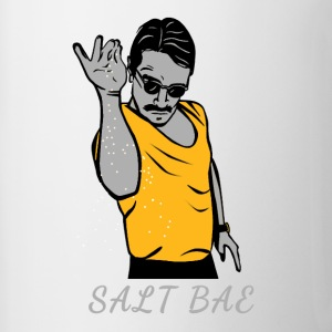 salt bae - Contrast Coffee Mug