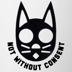 Not Without Consent (Black) - Contrast Coffee Mug