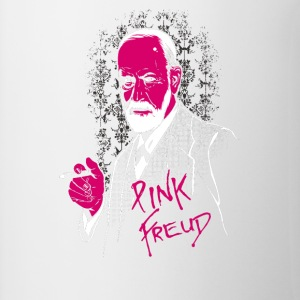 pink freud - Contrast Coffee Mug