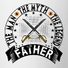 FATHER THE MAN THE MYTH THE LEGEND - Contrast Coffee Mug