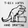 Architecture T-Rex Hates Hand Drafting - Contrast Coffee Mug