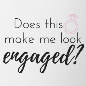 Does this ring make me look engaged? - Contrast Coffee Mug