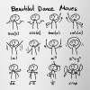 Beautiful Math Dance Moves - Contrast Coffee Mug