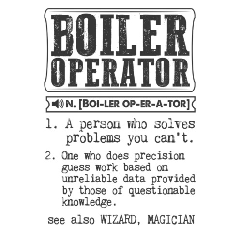 Boiler Operator Definition Gift Mug by kamikaza | Spreadshirt