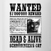 Schrödinger's Cat Wanted, Dead and Alive - Coffee/Tea Mug