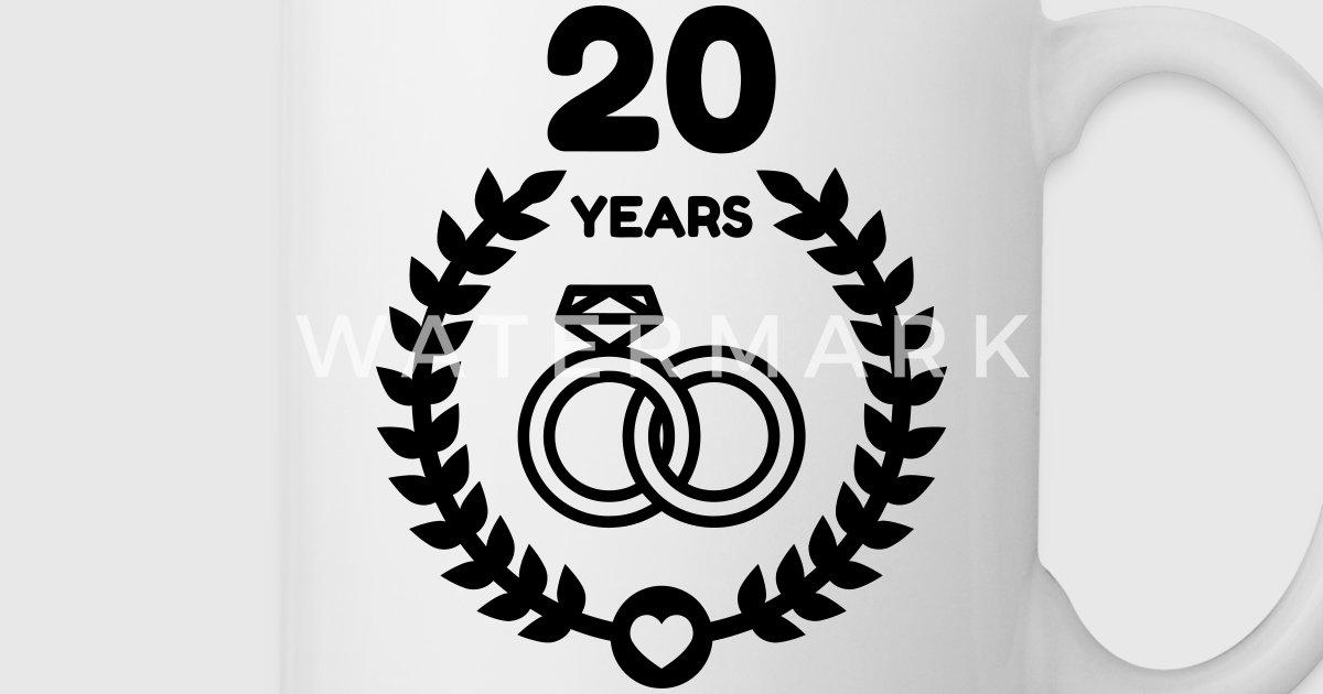The Best 20th Wedding Anniversary Gifts Finder Com >> Marriage Mariage Wedding Anniversary 20 20th China by LittleBoy   Spreadshirt