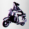 Vespa Scooter Girl - Coffee/Tea Mug