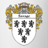 savage_coat_of_arms_mantled - Coffee/Tea Mug