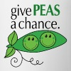 give PEAS a chance. - Coffee/Tea Mug