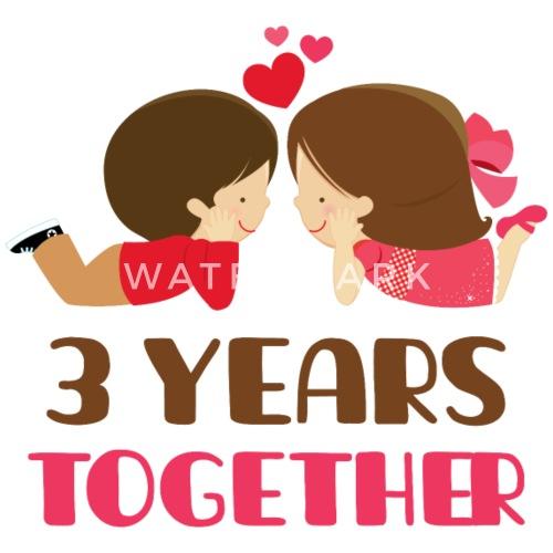 42nd Wedding Anniversary Quotes: 3rd Anniversary Gift 3 Years Together Mug