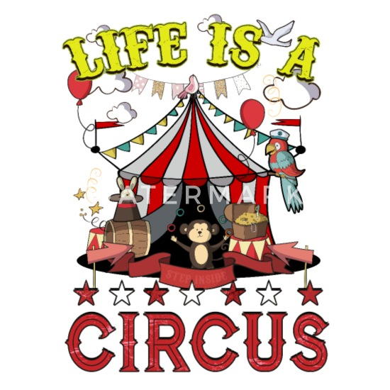 online store c7209 56015 Life is a Circus Funny Party Coffee/Tea Mug - white