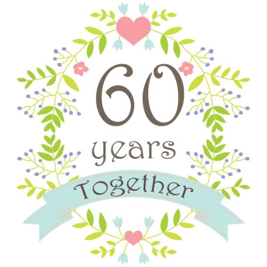 60th Wedding Anniversary Gift Mug