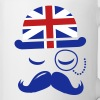 Vintage English Gentleman Sir Boss with Moustache - Coffee/Tea Mug