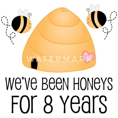 8th Wedding Anniversary Gift by homewiseshopper | Spreadshirt